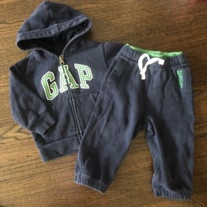 Gap Toddler Sweat Suit